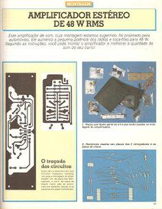 Esquemas projetos Eletrônicos : Amplificador áudio para carro 48 W TDA 1510 ou TDA 1515BQ.