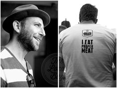 Andy Fenner and Shaun Bond from Frankie Fenner's Meat Market on Kloof street, Cape Town.