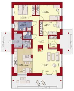 Rzut ZA Dom w Luizjanie 1 CE House Plans, Floor Plans, How To Plan, Blueprints For Homes, House Floor Plans, Floor Plan Drawing, Home Plans
