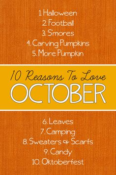 7d6d1f36c And here are my top ten reasons to love October… Halloween – I love  costumes.