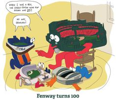 Fenway talks to the younger ballparks
