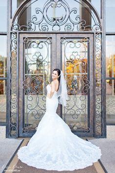 Perfect dress from St. Patrick via Lotus Bridal in Brooklyn! #Leonard's La Dolce Vita - Photo credit: www.cassiclaire.com