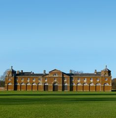Stables, Houghton Hall (1733-35) -- possibly by William Kent