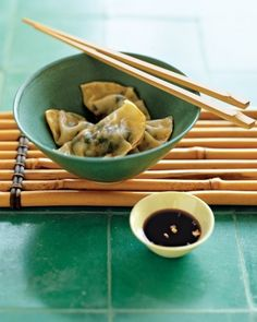 Chard Potstickers