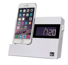 Kitsound x-dock 3 #alarm clock #radio charging dock - for ipod/iphone #5/5s/6/6+, View more on the LINK: http://www.zeppy.io/product/gb/2/182117249991/