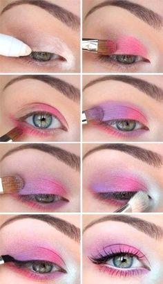 макияж схема розовая: 14 тыс изображений найдено в Яндекс.Картинках