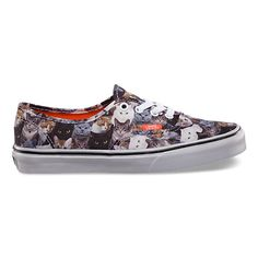 support the aspca with these awesome shoes with cats on them!