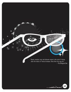 One eye to freedom. one to destruction.
