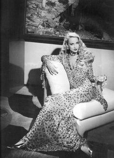 Jerry Hall. Luxe, loungey, and louche –add some Halston-era swank to your pad.