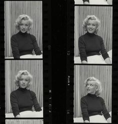 Marilyn Monroe. Photos by Alfred Eisenstaedt, May 1953.