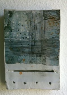 Porcelain wall piece, early work in 2004 by Petra Bittl