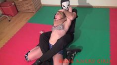 Women Defeated - Amber vs Mr. X at Angry Girls