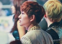 Onew's side profile~ cute <3 I loveeeee his side profile ~