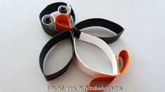 Penguin from a toilet paper roll.  Gloucestershire Resource Centre http://www.grcltd.org/scrapstore/