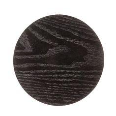 Harvey Coaster 10cm Black