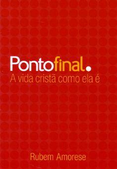 Livro Ponto final (Rubem Martins Amorese)