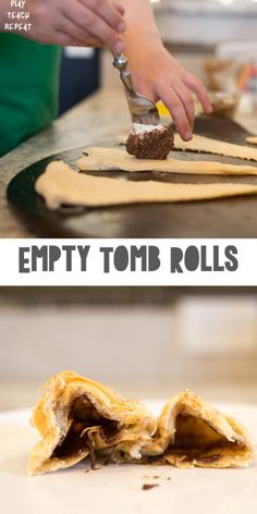 Empty Tomb Rolls - Munchkins and Moms Crescent Roll Dough, Crescent Rolls, Resurrection Rolls, He Is Risen Indeed, Empty Tomb, What Happened To Us, Easter Story, Easter Traditions, Easy Meals