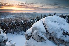 Wyżyna Krakowsko-Częstochowska Góra Zborów zimą