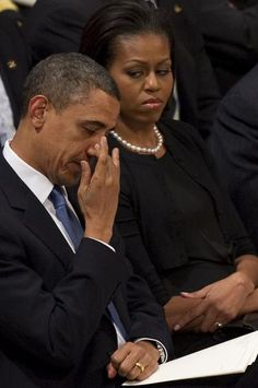 President Obama emotional at Height funeral