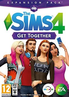 The Sims 4 Get Together Expansion Pack PC Games Cover Art