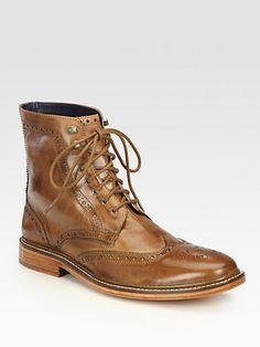 Cole Haan - Air Harrison Lace-Up Boot - Saks.com