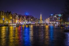 Amsterdam by night by Tommaso Maiocchi on 500px