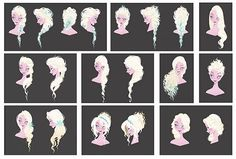 FROZEN, concept art visual development for Elsa: © Disney. FROZEN, Concept Art and Visual Development - © Disney. Elsa Frozen, Disney Frozen, Frozen Art, Disney Love, Frozen Songs, Frozen 2013, Arte Disney, Disney Art, Disney Drawings