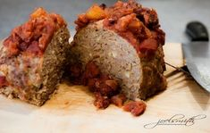 Meatloaf, as featured in the Fresh & Healthy DASH Diet Cookbook.