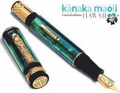 Indigenous people- Limited Edition Kanaka Maoli- Celebration Hawaii Fountain pen by Delta