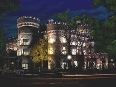 Grey Towers Castle (Philadelphia) is Constructed in Medieval Style and Later Style of French Renaissance http://shar.es/QHF57