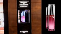 LANCOME /// Hologramme de vitrine