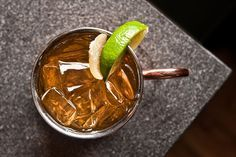 Like its famous namesake, this Fernet Mule packs a powerful punch. Photo by Ashley Sears.