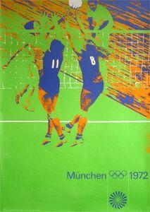 Plakat Olympische Spiele München 1972 © by Otl Aicher