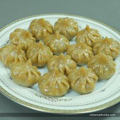 You can make flavorful Steamed wheat flour Modak on any festive or special occasion.  Recipe in English - https://goo.gl/k3NXPT (copy and paste link into browser)  Recipe in Hindi - https://goo.gl/na6XAc (copy and paste link into browser)