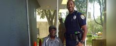 ELDERLY MAN LOSES BAGS ONCE HE SET THEM ON THE GROUND AFTER EXITING BUS, THEN OFFICER DOES THE UNTHINKABLE - http://eradaily.com/elderly-man-loses-bags-set-ground-exiting-bus-officer-unthinkable/