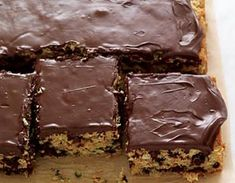 "Chocolate Zucchini Snack Cake  Kids will love this ""hidden"" veggie cake! From the Flat Belly Diet Cookbook."