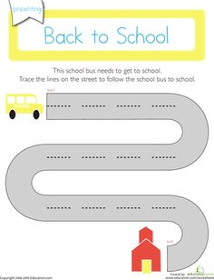Back to School Worksheets & Printables - Free Resources on Education.com