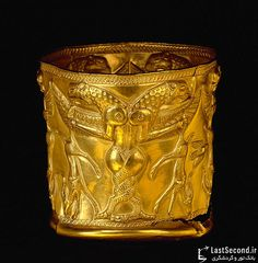 Two headed dragon cup made up of electrum Gilan, cheragh ali tappe (Marlik), 1400 BC. kept at louvre museum,france! Ancient History, Art History, Ancient Artefacts, Achaemenid, Art Ancien, Ancient Persian, Ancient Near East, Ancient Mesopotamia, Iranian Art