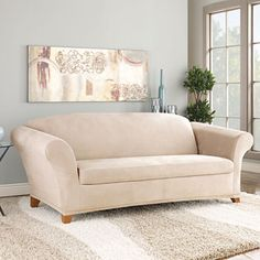 jcpenney.com | SURE FIT® Stretch Faux-Suede 2-pc. Sofa Slipcover