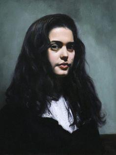 Lady in Lace (Portrait of Teresa Oaxaca) by Tish Lowe