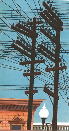 :: Wires & Poles, Miroslav Sasek, 1962 ::