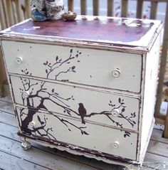 love the front paint job to refinish an old piece of furniture.
