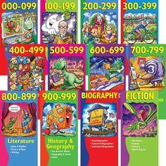 Demco.com Dewey Decimal Illustrated Poster Set