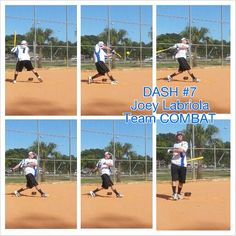 DASH #7 JOEY LABRIOLA TEAM COMBAT Slow Pitch Softball, Softball Players, Sports, Hs Sports, Sport