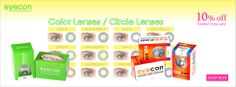 10% Off on All EYECON Color Lenses & Circle Lenses http://www.aonebeauty.com/brands/Eyecon/
