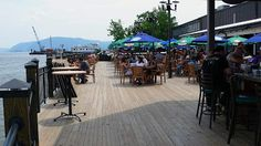 Billy Joe's Rib Works - Newburgh, NY - just adequate BBQ in a nice setting on the waterfront.