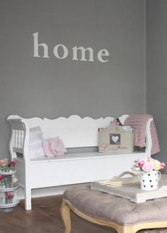 Shabby Wooden Bench