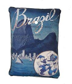 Zé Carioca - Almofada Brasil http://orientavida.org.br/produto/4654/wdzca+almofada+brazil