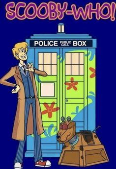 Scooby-Doo / Doctor Who, mashup Doctor Who 10, Doctor Who Fan Art, Doctor Who Comics, Crossover, Doctor Who Wallpaper, Tardis Wallpaper, Scooby Doo Mystery Incorporated, New Scooby Doo, Pixar