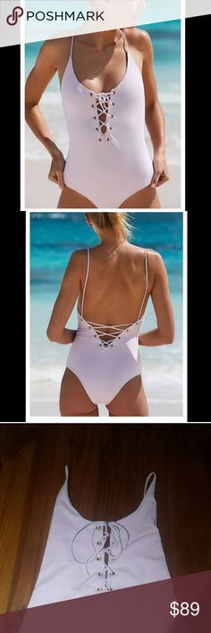 Free People Tavik Monahan One Piece MAKE AN OFFER! 💕Tavik Monahan one Piece in pale pale pink, Free People. Flattering self seamed smoothing bathing suit. Just the right amount of cheeky. has hygienic liner. Never worn. Wish I could keep but Im moving and don't need so many bathing suits 😕 💕OFFERS WELCOME! ! have a lot of cute free people, anthropologie, urban outfitters, forever 21, gap, banana republic that has to go, consider bundling for a discount! 💕! *Cheaper on ✅inted and…